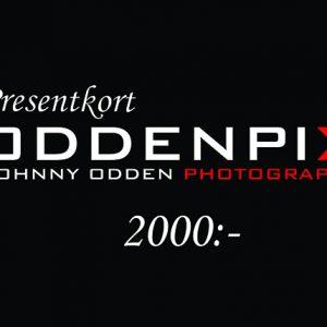 Presentkort 2000 - 600